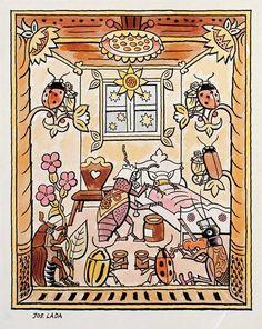 Bohemian Art, Children's Book Illustration, Vintage World Maps, The Past, Drawings, Artist, Pictures, Czech Republic, Illustrators