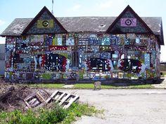 Olayame Dabls' art installations #detroit