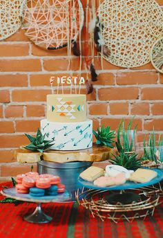 Southwest first birthday party   Wedding & Party Ideas   100 Layer Cake