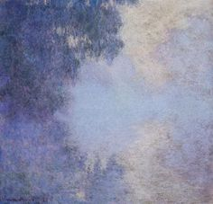 versions of Morning on the Seine, by Claude Oscar Monet