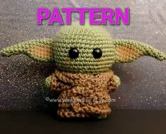 This Mandalorian Baby Yoda Inspired Plush Doll is ADORABLE! , A few days ago, I posted a baby Yoda plush doll, and even though it did not look exactly like the little green guy in The Mandalorian, it resembled hi. Amigurumi Doll, Plush Dolls, Amigurumi Patterns, Crochet Patterns, Crochet Dolls, Crochet Baby, Free Crochet, Knitting Projects, Crochet Projects