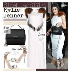 """Steal Her Style-Kylie Jenner"" by kusja ❤ liked on Polyvore featuring Proenza Schouler, Gianvito Rossi, Givenchy, women's clothing, women, female, woman, misses, juniors and Stealherstyle"