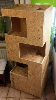 Cat Ramp, Cat Tree Plans, Cat Habitat, Diy Cat Tree, Cat Cages, Home Decoracion, Animal Room, Pet Furniture, Cat Accessories