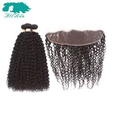 Allrun Pre Colore Jerry Curly Human Hair Bundles With 13 4 Lace Frontal Closure Malaysia Natural. #Allrun #Colore #Jerry #Curly #Human #Hair #Bundles #With #Lace #Frontal #Closure #Malaysia #Natural #hairbundles