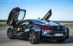 2014 Bmw i8-Open Doors | BMW | i Series | dream car | Bimmer | concept car | car photography | Schomp BMW
