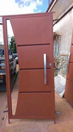 Grill Gate Design, House Main Gates Design, Steel Gate Design, Door Gate Design, Sliding Door Design, Front Door Design, Welcome Signs Front Door, House Cladding, Steel Security Doors
