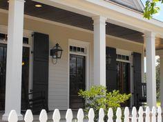 Southern Living's Covington Idea House (Susie Harris: Southern Porches)