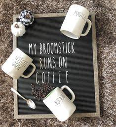 my broomstick runs on coffee! @raedunn