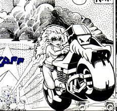 Bloodrunners bike magazine cartoons