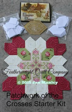 Lucy Boston Patchwork of the Crosses Quilt Starter Kit