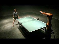 ▶ Timo Boll vs. KUKA robot - Teaser - YouTube