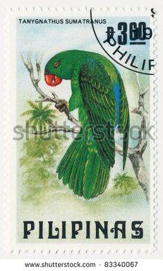 Philippines Stamp 1984 - Bird Parrots