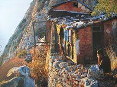 Ο άθεος που έγινε ερημίτης και το Θαύμα του Οσίου Παϊσίου Kirchen, Christianity, Mount Rushmore, Spirituality, Faith, House Styles, World, Places, Painting
