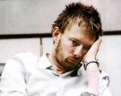 Thom Yorke and his bored pout.