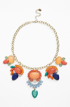 Colorful, Statement Necklace