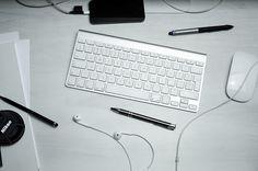 Tastatur, Maus, Stifte, Arbeitsbereich, Computer