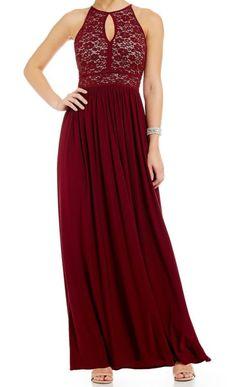 Lace Keyhole Tie Back Halter Dress Black Women Fashion, Womens Fashion, A Line Gown, Lace Bodice, Tie Backs, Fit Flare Dress, Trendy Plus Size, Sequins, Gowns