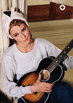 """Audrey Hepburn, """"Moon river, wider than a mile. I'm crossing you in style, some day"""""""