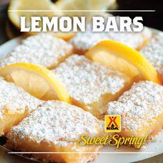 KOA Recipes - Lemon Bars