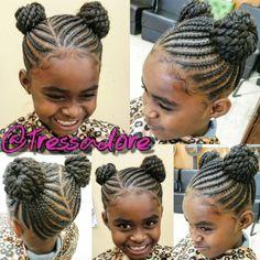 Little Girl Braid Hairstyles, Natural Hairstyles For Kids, Baby Girl Hairstyles, Kids Braided Hairstyles, Natural Hair Styles, Short Hair Styles, Children Hairstyles, Toddler Hairstyles, Bob Styles