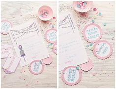 Sprinkles Sprinkles Everywhere ~ fill-in thank you cards
