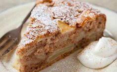 A delicious spiced apple cake with cinnamon and lemon zest by The Hairy Bikers - it's a fruity delight! Apple Cake Recipes, Baking Recipes, Apple Cakes, Carrot Cake, Bramley Apple Recipes, Spiced Apples, World Recipes, Sweet Recipes, Sweet Treats