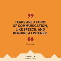 Tears Need Attention