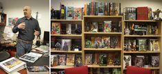 Mira las oficinas de DC COmics por dentro. En esta imagen, para envidia, la oficina de Dan Didio.