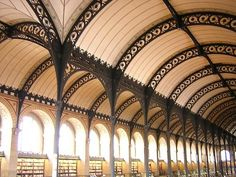 Biblioteca de Sainte-Geneviève, paris - Labrouste
