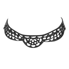 Lace Vegan Inner Tube Choker Tactile Texture, Bike Chain, Recycled Rubber, Plastic Bottles, Upcycle, Unique Jewelry, Tube, Artisan, Delicate