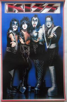 Kiss Images, Kiss Pictures, Kiss World, Vintage Kiss, Best Rock Bands, Best Kisses, Kiss Band, Ace Frehley, Hot Band