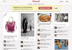 """Pinterest, muitos """"boards e pins"""" dos seguidores e usuários da rede social (Foto: Reprodução/Pinterest)"""