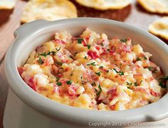 Crab Dip- so delicious it disappears, I swear