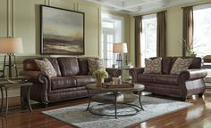 Plush comfort and a versatile earth-tone palette make Breville accent chair a…