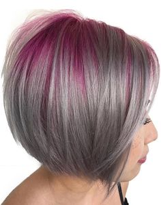 Best blonde hair color with charming and bright pink roots for 2017 2018.