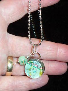 easy pendant necklace  live. love. scrap.