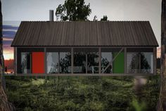 HUSMANN (Design:Ole Petter Wullum) Back Gardens, Architecture, Tiny House, Cool Designs, Farmhouse, Exterior, House Design, Buildings, House Styles