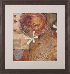 Gilded Leaf IV by Heather Judge Framed Painting Print
