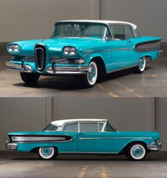 I remember seeing this one at Mecum Auctions at Monterey in Edsel Ford, Car Ford, Cars Usa, Us Cars, Vintage Cars, Antique Cars, Old American Cars, Old Fords, Japanese Cars