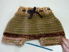 How to Crochet a Cloth Diaper Cover Introduction