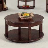 Found it at Wayfair - Sebring Castered Round Coffee Table