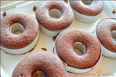 KusineraDavao offers Recipes on Filipino Dishes. Also showcases simple dessert recipes and other refreshments. Diy Donuts, Easy To Make Desserts, Filipino Dishes, Whole Grain Bread, Bagel, Simple Dessert, Doughnut, Dessert Recipes, Baking