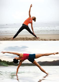 Must do yoga on beach one day.