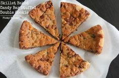 Candy Bar Stuffed Skillet Cookie 5 text