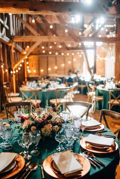autumn wedding tablescape by Broadturn Farm, captured by Cait Bourgault – Wedding Centerpieces Teal Wedding Decorations, Wedding Table Centerpieces, Wedding Table Settings, Orange Wedding Colors, Fall Wedding Colors, November Wedding Colors, Dark Teal Weddings, Burnt Orange Weddings, Turquoise Weddings