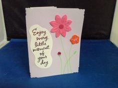 Day 37 - Enjoy Each Day Greeting Card