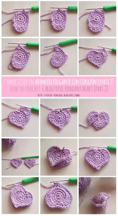 como tejer corazon crochet amigurumi patron gratis how to crochet heart Amigurumi pattern freely crochet Crochet Home, Crochet Dolls, Knit Crochet, Crochet Gratis, Crochet Keychain, Crochet Earrings, Vintage Crochet, Crochet Flowers, Handicraft