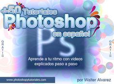 +50 videotutoriales gratis en español para aprender a utilizar Photoshop