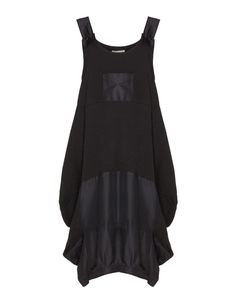 D Celli Cotton pinafore in Black
