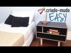 Criado-mudo Easy ( móveis - faça você mesmo ) DIY - YouTube